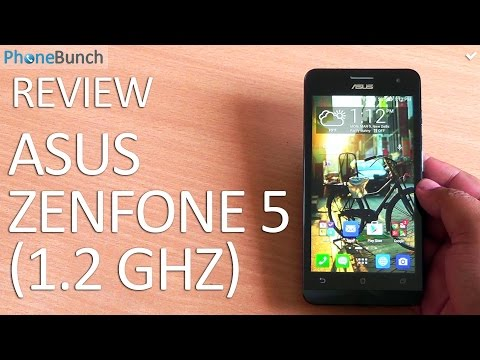 Asus Zenfone 5 (1.2 GHz Dual-core) Full Review