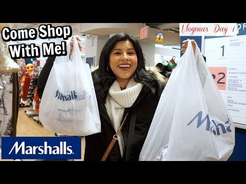 Come Shop With Me at MARSHALLS and Holiday Nostalgia Rides!   Vlogmas Day 1
