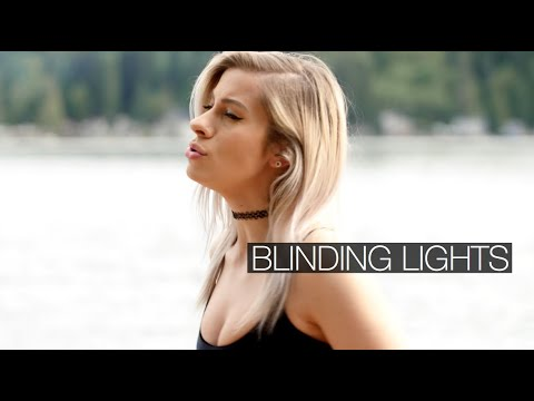"""The Weeknd  """"Blinding Lights"""" Cover by Andie Case"""