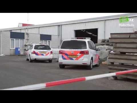 Twee doden na instorten muur in Waalwijk