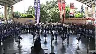 PAREF Southcrest Family Day 2014 Cheer Dance Competition - Blue Pirates