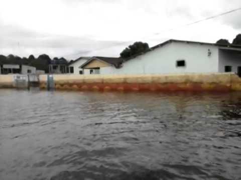 enchente no distrito de surpresa em Rondonia 2014