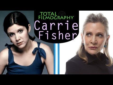 Carrie Fisher | EVERY movie through the years | Total Filmography | Star Wars Shampoo