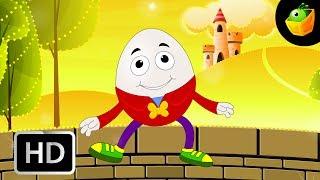 Humpty Dumpty  - English Nursery Rhymes - Animated/ Cartoon Songs For Kids