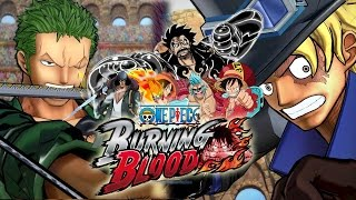 Gameplay - Luffy, Franky e Zoro vs Ace, Sabo e Kuzan