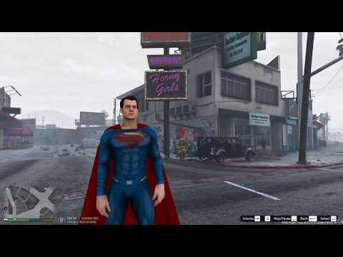 GTA 5 Superman VS Hulk