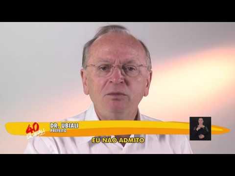Dr. Ubiali Prefeito 30/08/2016