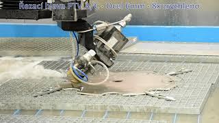 PTV Řezací hlava A/C - Řezání oceli 6mm