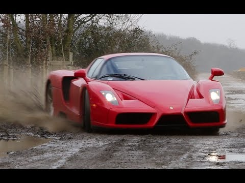 the ferrari enzo that makes rally!