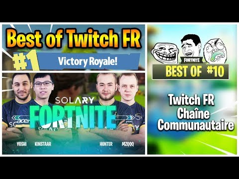 MUSHWAY 1V3 LA SOLARY, XARI N'A PAS D'ÂMES - Moments Wtf & Marrants Fortnite Best Of Twitch Fr #10