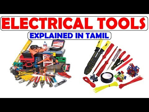 Important Electrical Tools | Explained in Tamil