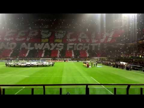 Inno Champion's Milan Barcellona 2013 a San Siro Milano