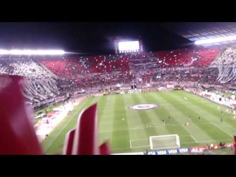 Video - RIVER PLATE 3 VS TIGRES 0 FINAL COPA LIBERTADORES 2015 PREVIA - Los Borrachos del Tablón - River Plate - Argentina