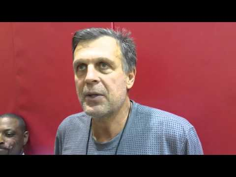 Kevin McHale after Day 4 Houston Rockets Training Camp