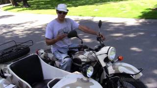 6. 2011 Ural Gear-Up Review - The original two-wheel-drive motorcycle