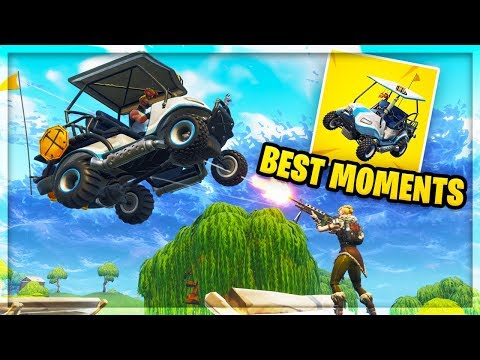 Best All Terrain Kart Plays! Fortnite Season 5 Funny Moments!