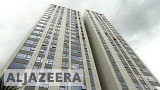 UK: Dozens of London towers fail fire safety tests