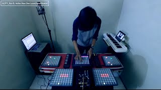 Video Launchpad Cover Live Remix - RATHER BE (clean bandit) by Alffy Rev ft Indies Noe MP3, 3GP, MP4, WEBM, AVI, FLV Januari 2018