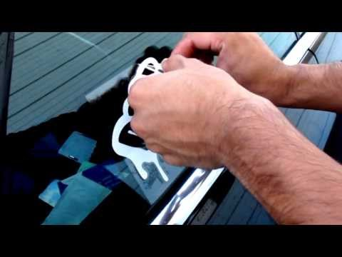 iJDMTOY How To Apply A Car Sticker Decal