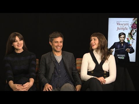 "Gael García Bernal, Monica Bellucci & Lola Kirke on ""Mozart in the Jungle"" Season 3"