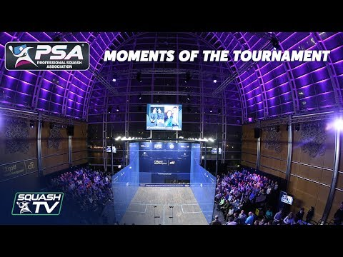 Squash: Moments Of The Tournament - Canary Wharf Classic 2019