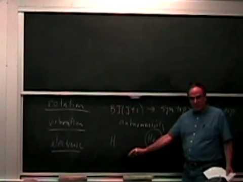Lec 1 | MIT 5,80 Kleinlmolekülspektroskopie und Dynamik, Herbst 2008