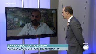 Diego Singolani, fala sobre os primeiros 100 dias a frente da prefeitura de Santa Cruz do Rio Pardo