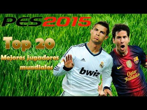 [PES 2015] Top 20 mejores jugadores del mundo