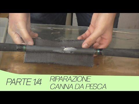 Riparazione canna da pesca con carbonio [Parte 1/4] - Repairing fishing rod with carbon [Part 1/4]