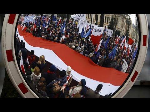 Πολωνία: Αντικυβερνητική διαδήλωση