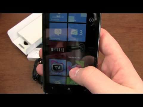 HTC HD7 Unboxing
