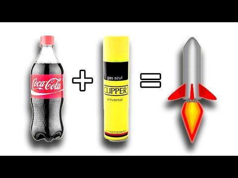 戰鬥民族又出招 可樂竟然能做成火箭!