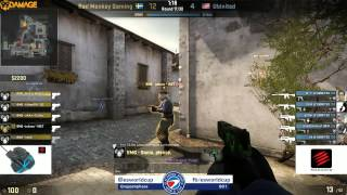 ESWC 2014 Female - Gruppenphase Guppe A - Bad Monkey Gaming Vs. Ubinited Female (de_inferno)