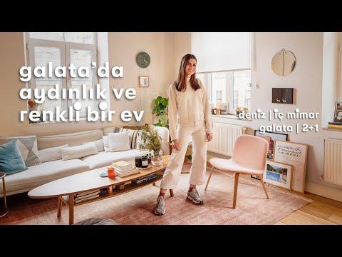 Daire Turu: Deniz'in Galata'daki Kompakt Evi