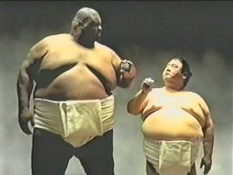 Extremely Funny commercial Sumo