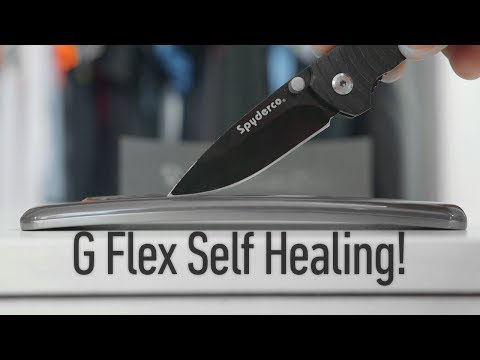 demo - LG G Flex Scratch Test & Knife Demo, plus flex action! LG G Flex: http://goo.gl/jF3Xx1 Official LG Demo video: http://youtu.be/SphEAlsrRoo Samsung Galaxy Rou...