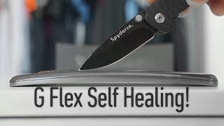 LG G Flex Self Healing Demo! - YouTube