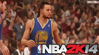 NBA 2K14 - Next-Gen Golden State Warriors vs Miami Heat Gameplay HD