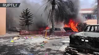 Haití: Un muerto durante las protestas contra el aumento del precio del combustible
