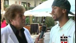 Affion Crockett (Oskamill) at BET Pre-Awards Event