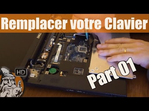 comment demonter le clavier d'un ordi portable