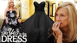 Video Conservative Mother Disapproves of Black Wedding Dress | Say Yes To The Dress Atlanta MP3, 3GP, MP4, WEBM, AVI, FLV Februari 2019