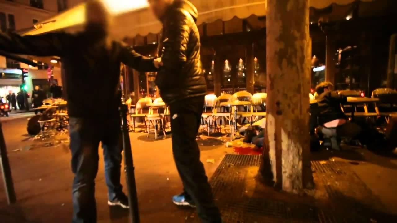 Παρίσι: Απόσπασμα από βίντεο που καταγράφει τα πρώτα δευτερόλεπτα μετά από επίθεση των τζιχαντιστών