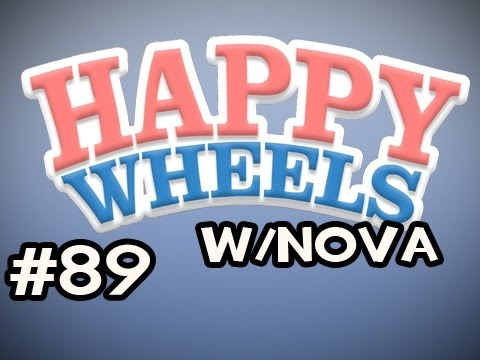 Happy Wheels w/Nova Ep.89 - NEW BLOOD / String Thing Video