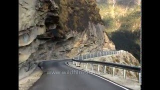 Lachung India  city pictures gallery : Driving from Lachung to Katao Top, North Sikkim