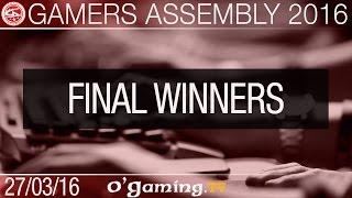 Millenium vs Platinium - Gamers Assembly 2016 - Final bracket winners