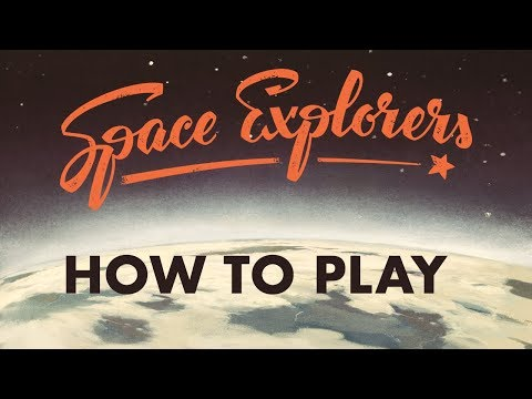 Space Explorers Board Game How To Play Walk Through (English Edition)