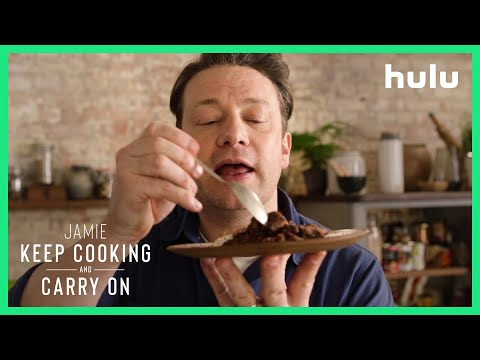 Homemade Chocolate Cake with Jamie Oliver | Keep Cooking and Carry On • British Binge-cation on Hulu