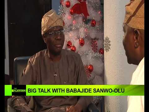 The Platform: Big Talk With Babajide Sanwo-olu