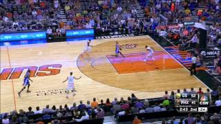 Stephen Curry crazy Steal and lay up against Phoenix!